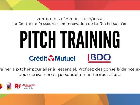 5 Fév. - Pitch Training en présentiel