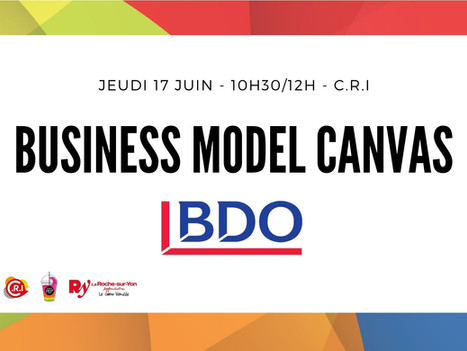 Jeudi 17 Juin - Atelier Business Model Canvas
