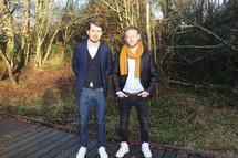 Nicolas Maé et Grégoire Boucaud - porteurs de projet innovant