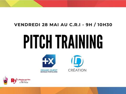Vendredi 28 mai - Pitch Training