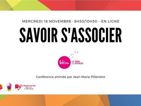 18 Nov. 2020 - Webinar Savoir s'associer