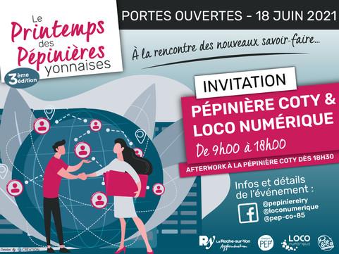 Vendredi 18 juin - Les Pépinières ouvrent leurs portes !