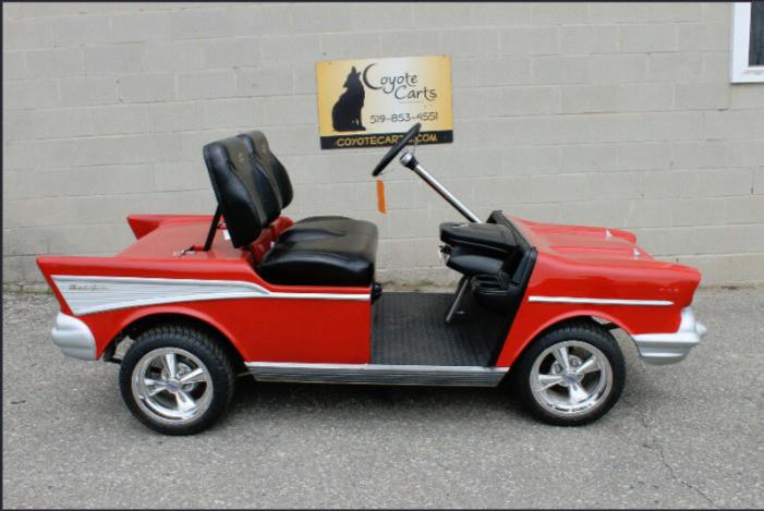 The Bosses Cart!