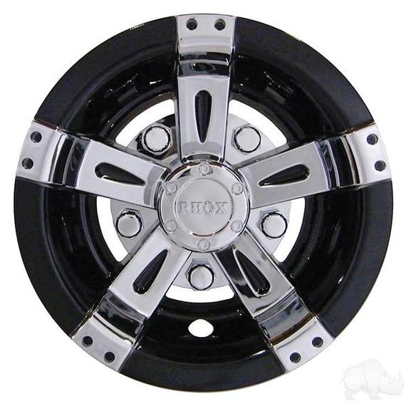 Set of 4 Wheel Cover 8.0 Vegas Chrome an