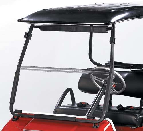 Club Car DS 2000 and up. Fold Down Acryl
