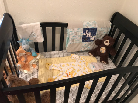 My Son's Due Date Will Be a Silent Night