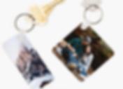 School Photo Keychain