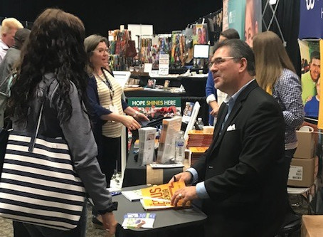 """Hope Now"" Book-Signing at #CAFO2019"