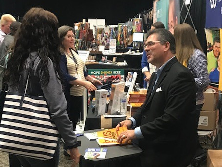 """""""Hope Now"""" Book-Signing at #CAFO2019"""