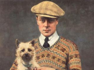 Eduardo VIII puso de moda los jerséis estilo Shetland