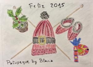 El dibujo de Navidad de patupeque by Blanca
