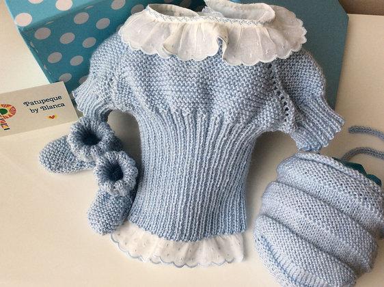Conjunto lana merino