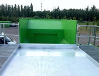 Загрузочный хоппер станции перегруза отходов