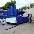 Пресс компактор для производственного предприятия