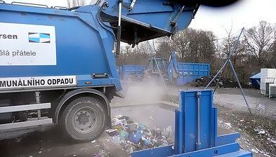 Механическая станция перегрузки отходов