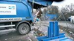 Пресс компактор для перегруза отходов
