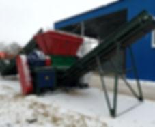 Шредеры дробилки для мусора отходов