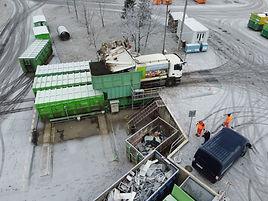 Автоматическая станция перегруза отходов