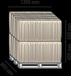 Вертикальный пресс L8-1 размеры тюка