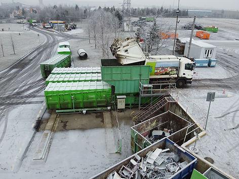 Станция перегруза отходов