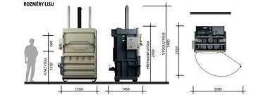 Вертикальный пресс L30-1 габаритные размеры пресса