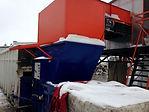 Пресс компактор для мусоросортировочного комплекса