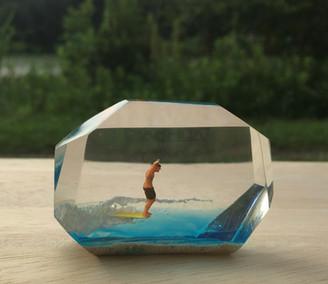 CrystalCube(C.C.) S long size  ≒ 6cm*3cm*1.5cm