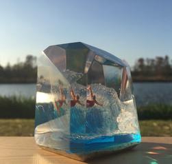 CrystalCube(C.C.) L size  ≒ 5.5cm*5.5cm*5.5cm