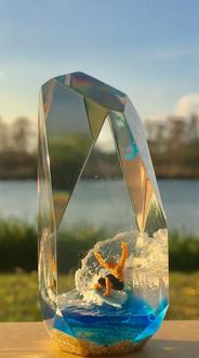 CrystalCube(C.C.) S tall size  ≒ 6cm*3cm*3cm