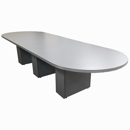 12' x 4' Racetrack Conference Table