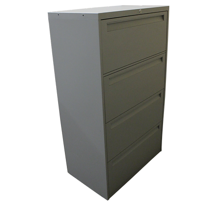 """Steelcase 30""""4 Drawer Lateral File"""