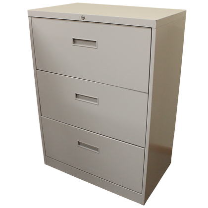 Steelcase 30W 3Drawer Lateral File