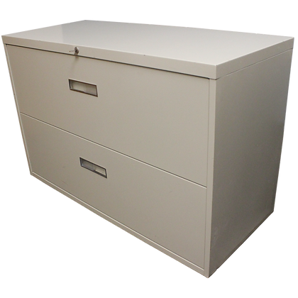 """Steelcase 42"""" 2 Drawer Lateral File"""