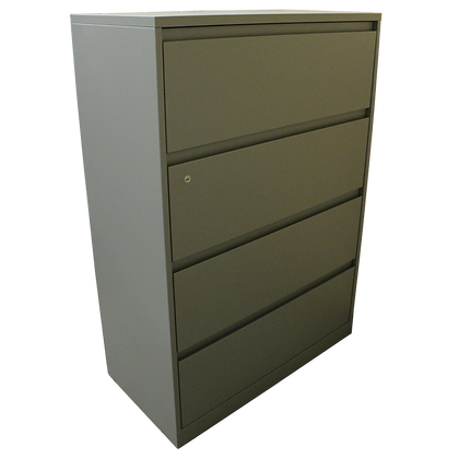"""Steelcase 36"""" 4 Drawer Lateral File"""