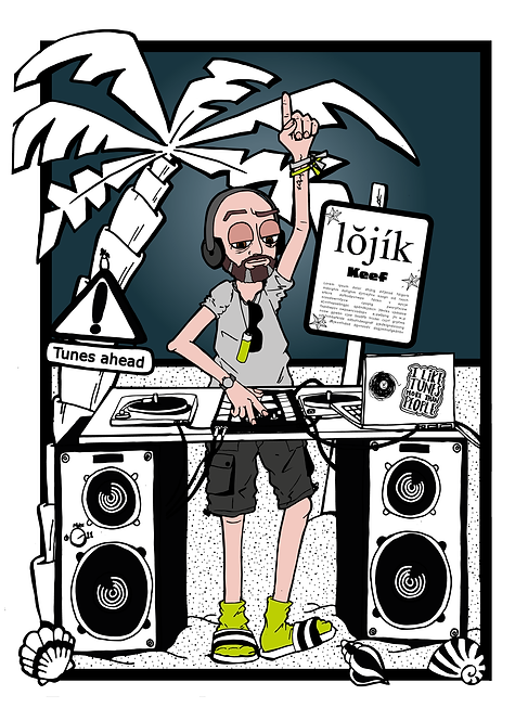 Personalised  Portrait: Superstar DJ