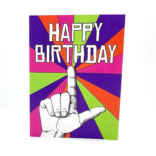 Loserville Birthday Card