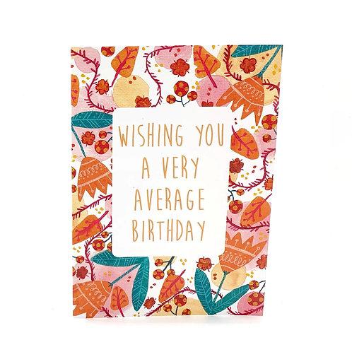 Bloody Good Birthday Card