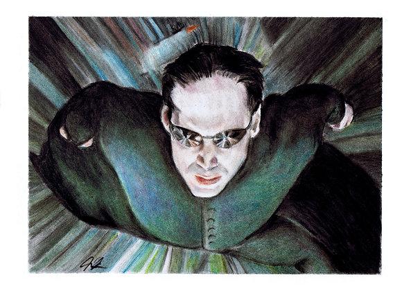 "Keanu Reeves ""Neo Matrix"""