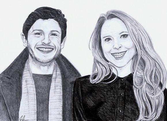 Iwan Rheon & Zoe Grisedale