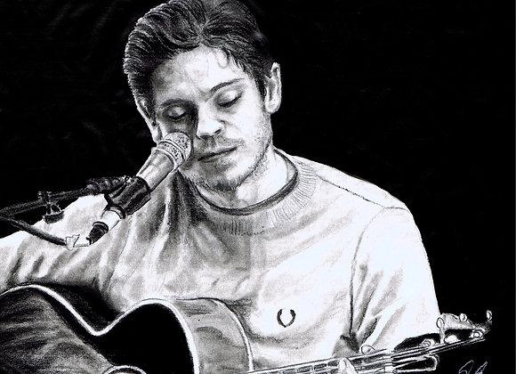 Iwan Rheon Guitar