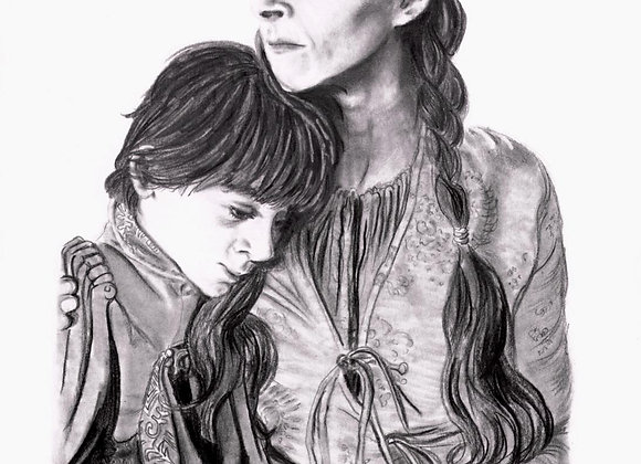 "Kate Dickie & Lino Facioli ""Lysa & Robin Arryn"""
