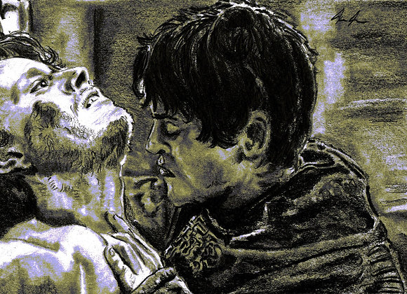Iwan Rheon, Alfie Allen, Theon Greyjoy, Ramsay Bolton