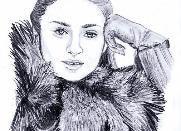Sophie Turner, Sansa Stark