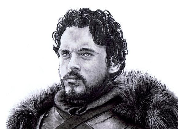 "Richard Madden ""Robb Stark"""