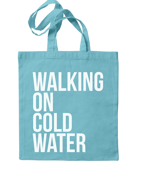 Walking on Cold Water Tote