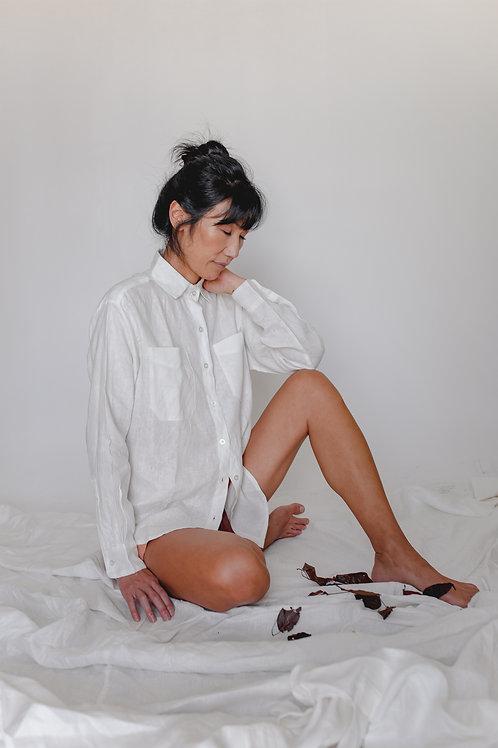 Camisa Áster Off White