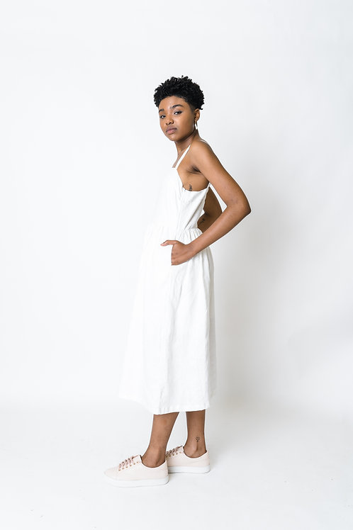 Vestido Amarílis Off White