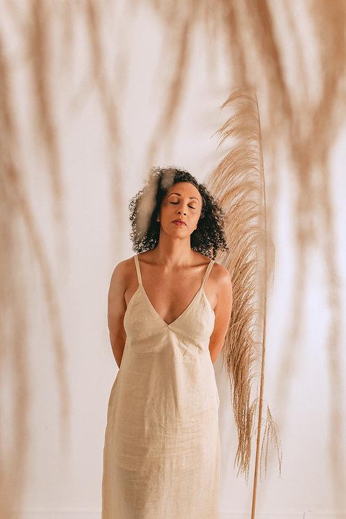 Vestido Ana Amarelinho