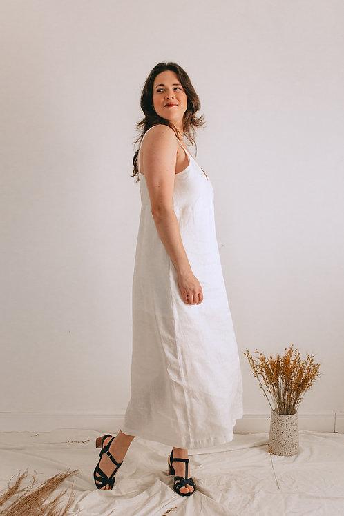 Vestido Ana Off White