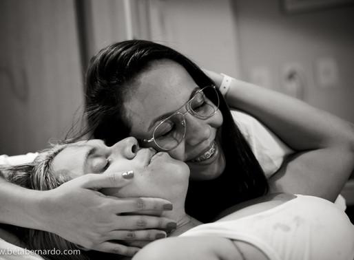 [Vídeo] - VBAC (parto normal após cesárea) da Karine Bregunce